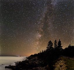 Milky Way at Acadia, Maine.    I've never seen the Milky Way in person...adding that to my Bucket List.