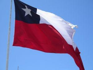 South America visa Chile flag