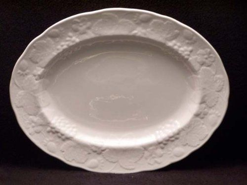 For Informational Purposes:  Wedgwood Strawberry And Vine Platter - Bone China.  Sells for $95.