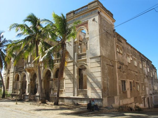 The historical Marine Hotel in Diego Suarez http://madacamp.com/Marine_Hotel