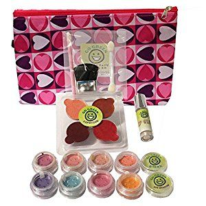 Amazon.com: Go Green Face Paint Pretend Play Make Up Kit - Real Make Up Set for Girls, Organic Child Safe, Keeps Your Children Safe From Lead and Dyes, Makes Princess Costumes Come to Life!: Toys & Games