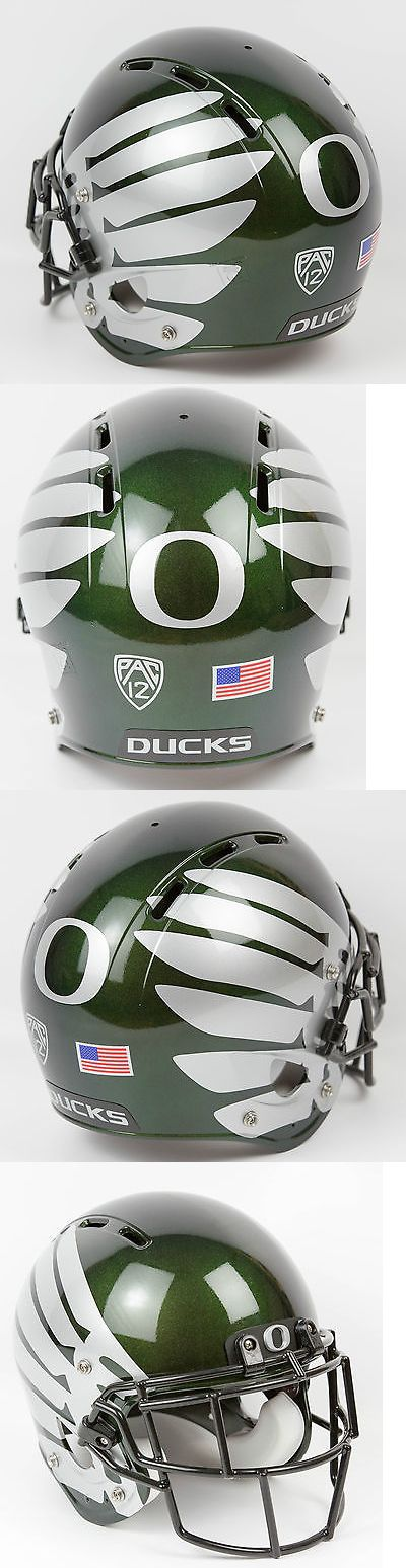 Helmets and Hats 21222: Oregon Ducks Rawlings Football Helmet Color Shift -> BUY IT NOW ONLY: $299.99 on eBay!