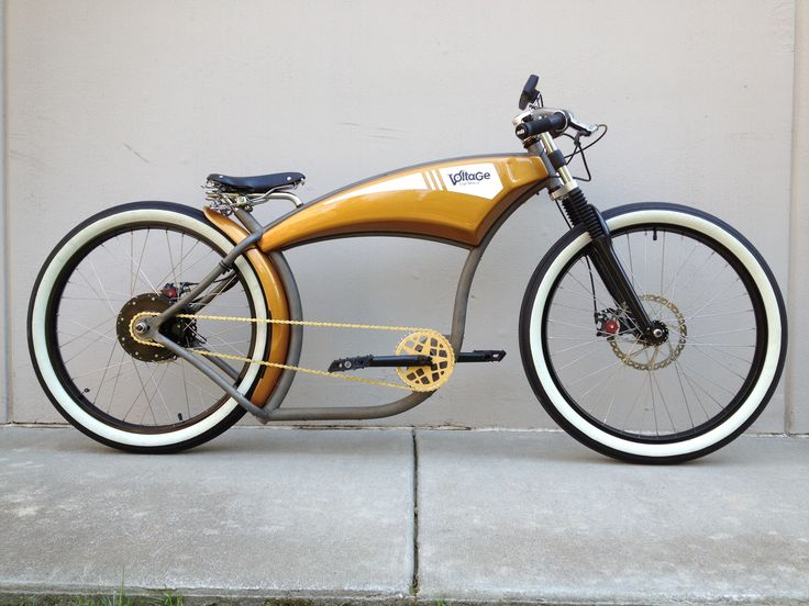 Board Tracker: Golden Ticket by Voltage Cycles electric bike.