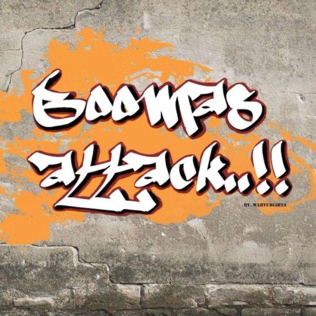 BOOMAS ATTACK..!!!! #art #artwork #artworkoftheday #graffity #grafiti #mural #font #boomasattack #flash #flashanimation #animation #animasi #gresik #gresikanimation #sman1kebomas