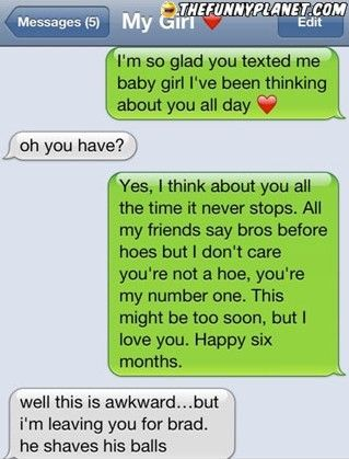 how to break up with someone in a funny way