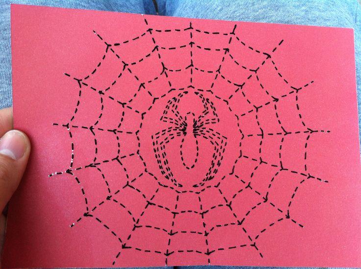 Spider-Man Stitched Art by JSA. #JaimiesStitchedArt