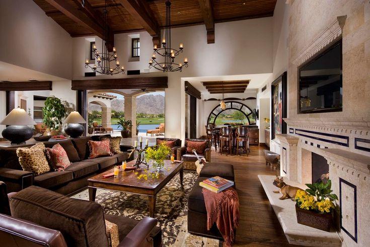 mediterranean decor living room - Google Search
