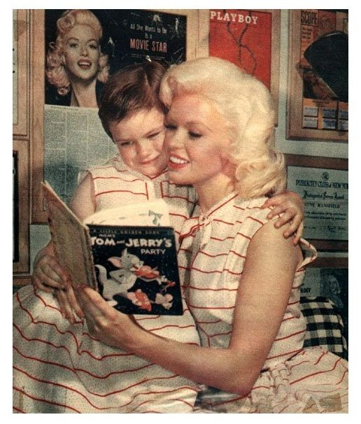 28 best images about jane mansfield on pinterest posts for How old was jayne mansfield when she died