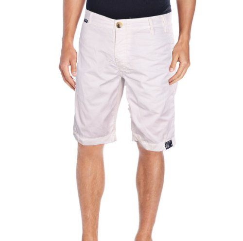 Superdry Men's Tokyo 5 Limited Edition Shorts-White