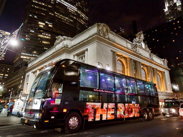 THE RIDE bus tour