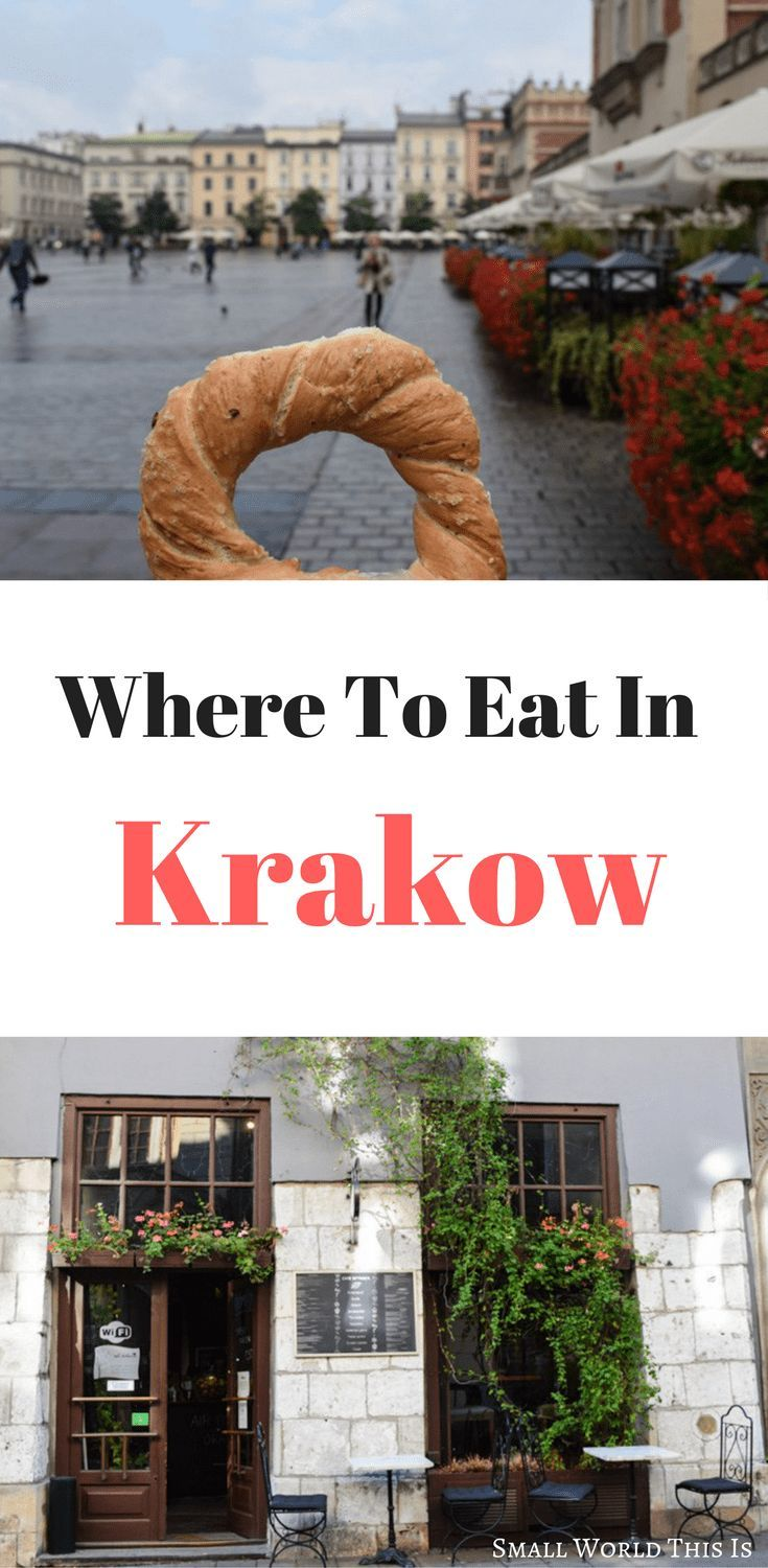Where to eat in Krakow, including the best restaurants, cafes and bakeries around the city center | krakow travel | krakow restaurants