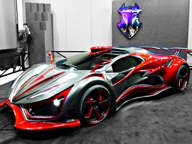Inferno exotická auta