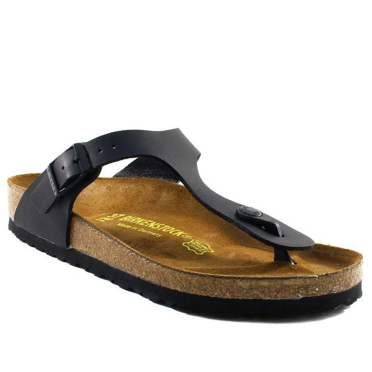 803A BIRKENSTOCK GIZEH NOIR www.ouistiti.shoes le spécialiste internet  #chaussures #bébé, #enfant, #fille, #garcon, #junior et #femme collection printemps été 2016