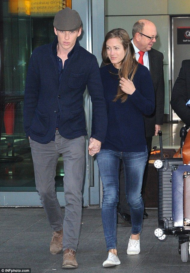 Back in blighty! Eddie Redmayne and wife Hannah Bagshawe return to London following glamourous red carpet appearance at the Met Gala