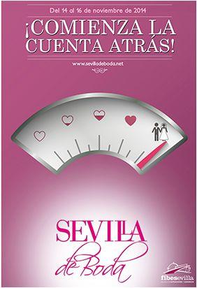 Se aproxima la feria #sevilladeboda2014. Conoce todos los detalles para tu boda! en @Sevilla_deBoda @MiBodaApp