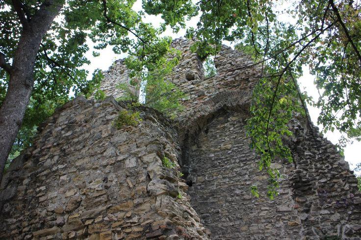 Ruins of a 13. century nunnery.