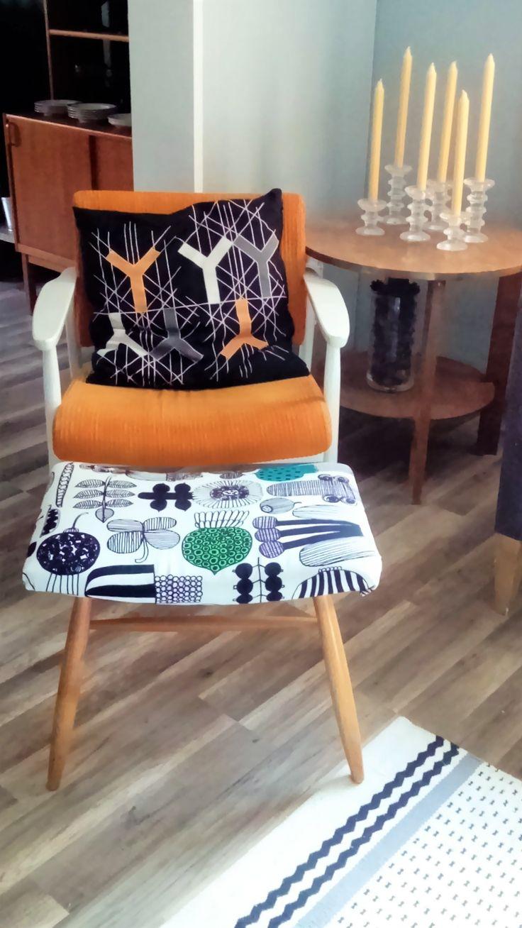Retro chair in my livingroom
