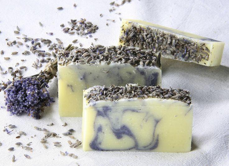 Seifen - Lavendelseife, vegan und palmölfrei - ein Designerstück von lueneseife bei DaWanda