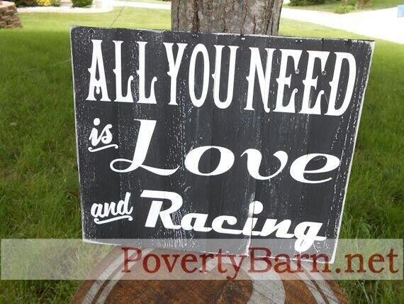 All you need is love and Racing