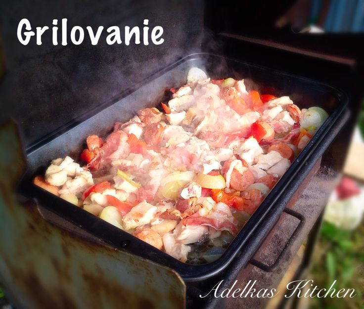 Letná grilovačka- grill and summer.
