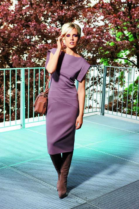 Paneled Sheath Dress 09/2010