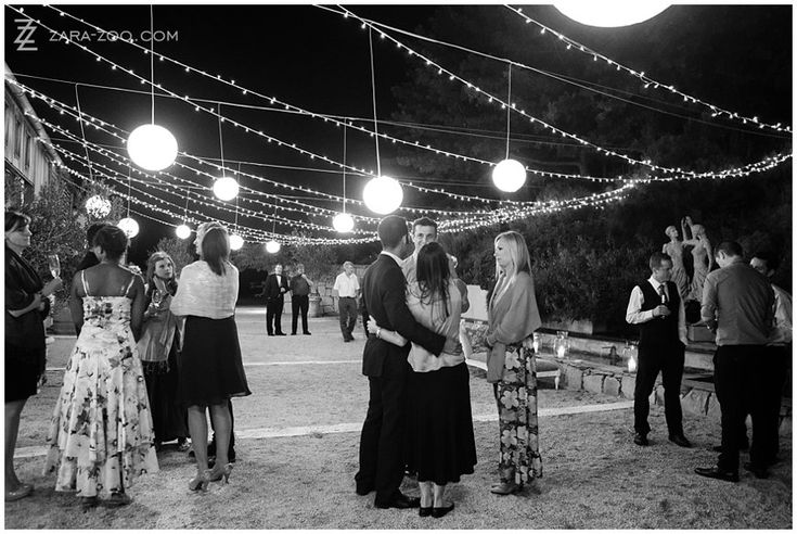 Light up your #outdoor areas of your #wedding with fairy lights, paper #lanterns and candles in vases.  #Lighting ideas like this created #ambiance and warmth and will convert an ordinary entrance to a night time wonderland.  See more of this wedding at #Rockhaven on the #ZaraZoo blog http://www.zara-zoo.com/blog/wedding-at-rockhaven/