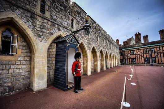 Keep a stiff upper lip. Hampton Court Palace guard. #england #BTPPortraitPro ...