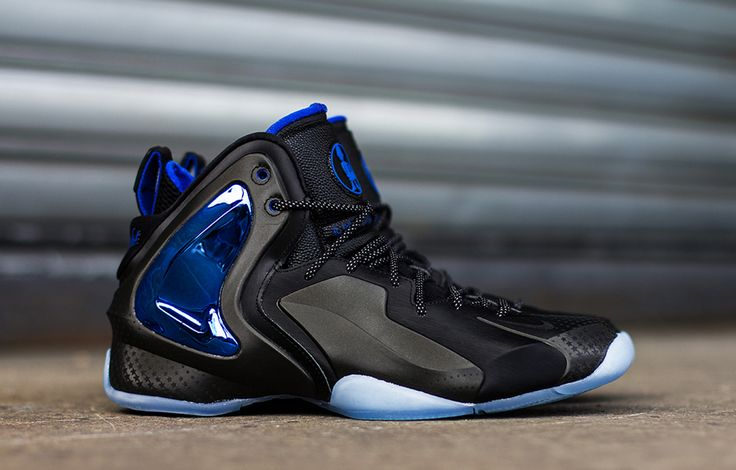 Durable Nike Lil Penny Posite Black Black Reflective Silver Hype