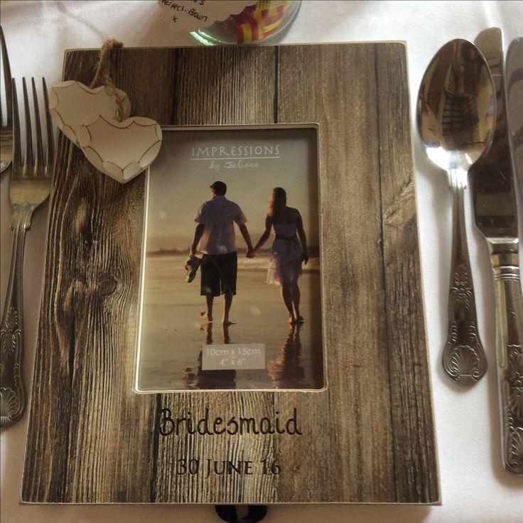 Summer Wedding 2016.   Present for bridesmaids