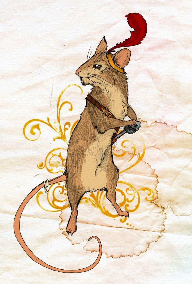 """Brave as a Mouse"" [Reepicheep] by burgundythorns on deviantART. *Taking deep breathe* *Singing*: AAAAAAAAAAAAAAAAWWWWWWWWWWWEEEEEEEEEEESSSSSSSSSSSSOOOOOOOOOOOOMMMMMMMMMEEEEEEEEE!!!"