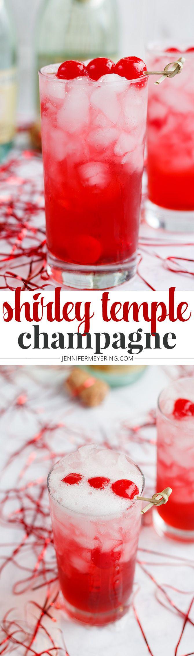 Shirley Temple Champagne - JenniferMeyering.com