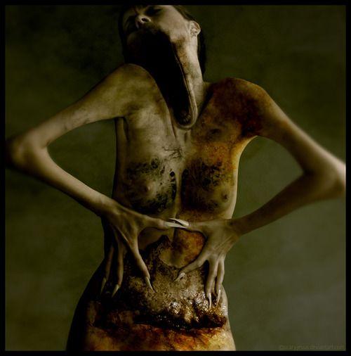 horror art: