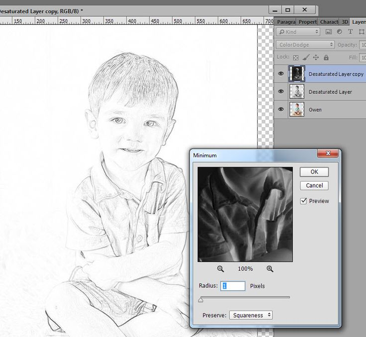 How to Create a Sketch from your Photographs by Snickerdoodle Designs