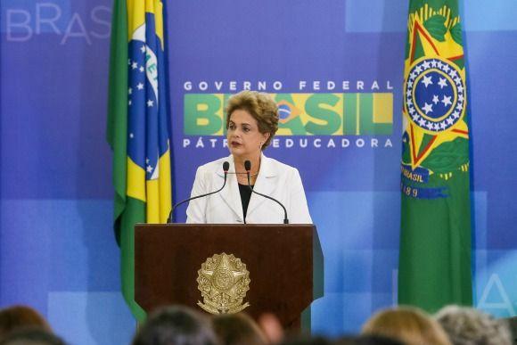 Em discurso, Dilma ressaltou os investimentos em educação feitos nos últimos 13 anos. Foto: Roberto Stuckert Filho/PR