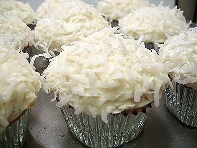Jamie Eason's coconut protein cupcakes!