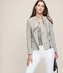Women's Leather Jackets & Coats - Designer Women's Leather Jackets & Coats By Reiss
