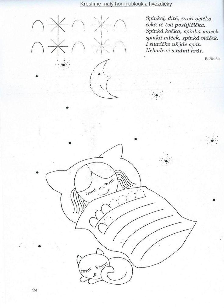 horní oblouk a hvězdičky