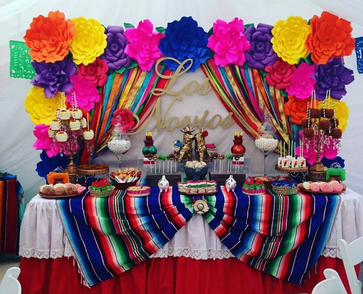 Ofrenda Table of Remembrance decor ideas  Kidmin in 2019  Mexican birthday parties Fiesta