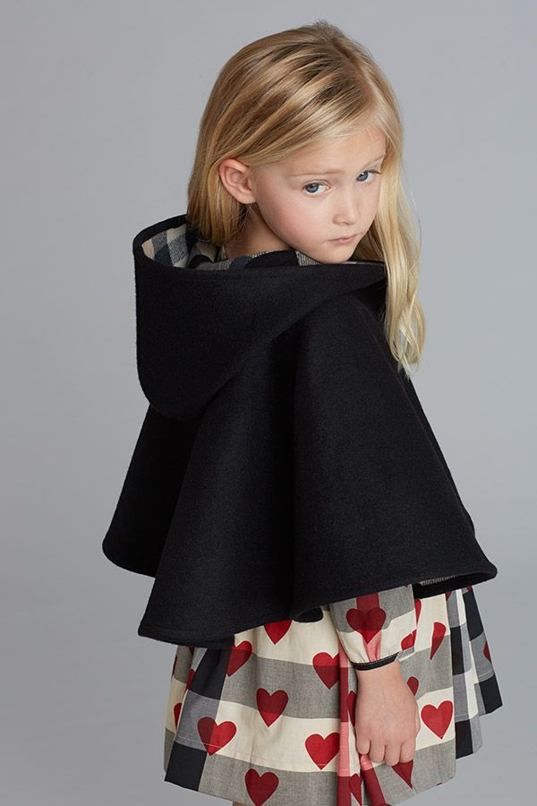 Your little girl will be the talk of the playground in this adorable #Burberry outfit. #SaksStyle