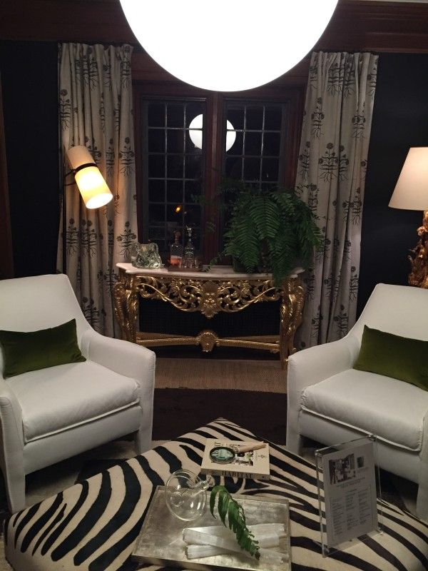 the mix_console with earthy, organic prints 2015 Maison de Luxe at Greystone Mansion | La Dolce Vita