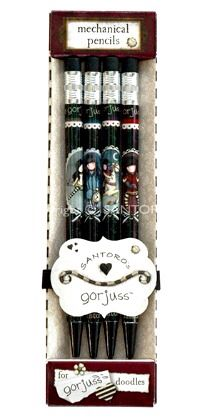 Gorjuss Mechanical Pencils $11 @ www.graceandlace.com.au