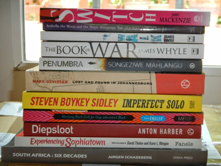 A reader in America just got some African books.