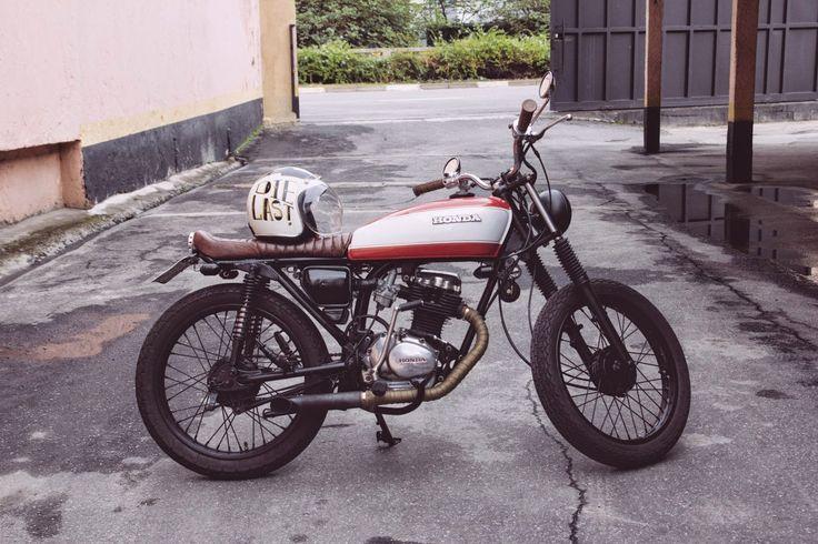CG 125 Brat by Marcus Tomaselli | Garagem Cafe Racer