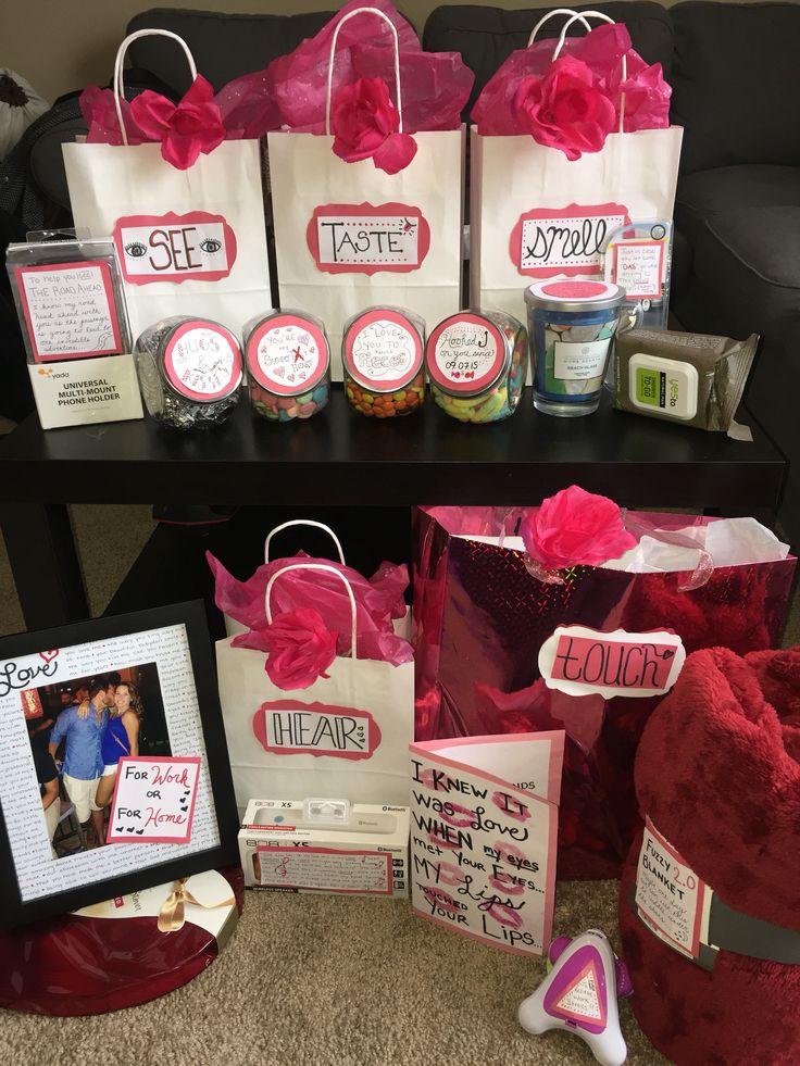 5 senses valentine