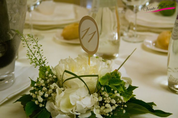 simple and charming centerpiece