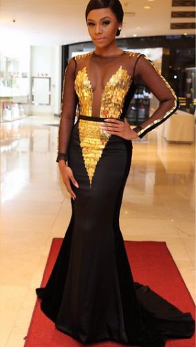 Welcome to Geophilworld's blog: Bonang Matheba stuns in a new outfit to an event i...