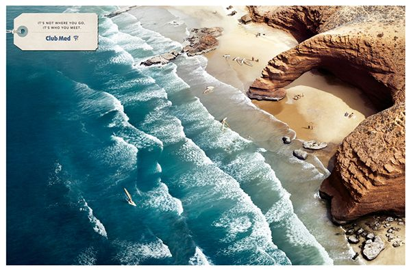ClubMed / travel & leisure on Behance