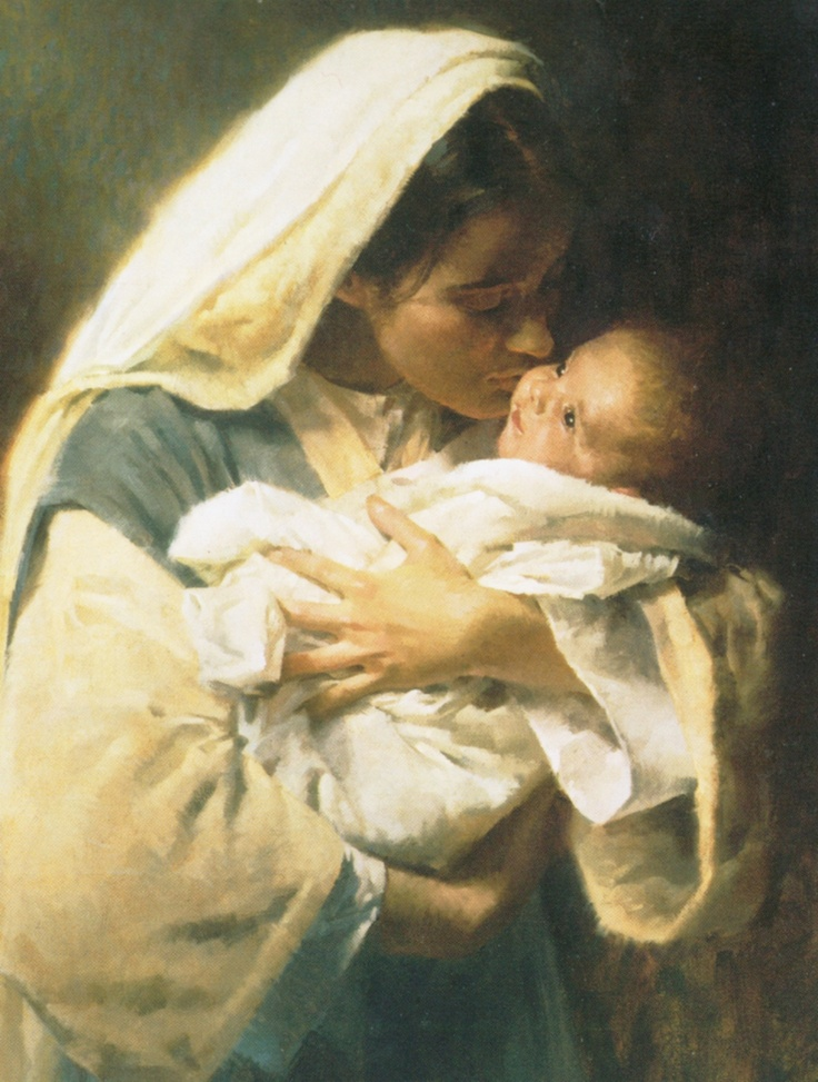 Mary With Jesus, the real reason for his coming. You! Me! He loved us that much!