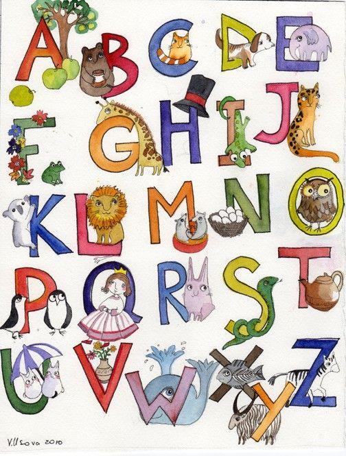 An Adorable Children's Print by Victoria Usova