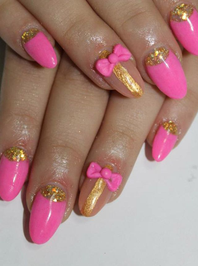 36 Beautiful Modern Nails With Bombastic Design I want my next manicure in this shape.what would I ask for??